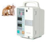 Bomba veterinaria portable de la infusión de la jeringuilla del equipamiento médico ICU de la ISO del Ce