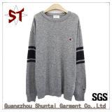 Women'fashion 우연한 색깔 로고를 가진 섞는 형식 니트 스웨터