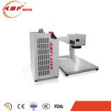 20 con la máquina de grabado portable del laser de la fibra del metal del camino de la luz de la extraposición de 30With 50W