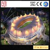Azotea extensible de la membrana del estadio del deporte de Tanggu