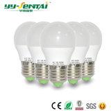 La luz de bulbo más caliente de la lámpara E27 3W LED