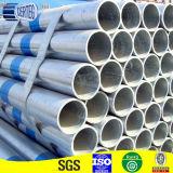 Окунутый горячий BS1387 гальванизировано вокруг стальных трубы водопровода и трубопровода