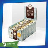 Racks POS Chocolate Display, pantalla de cartón para la promoción de Chocolate