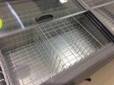 congelatore piano dell'isola del Governo del portello scorrevole 630L per il supermercato