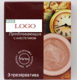 Kondom mit Cer, ISO, FDA, Fsc-Hersteller-Normal, gewellt, punktiert, ultra dünn, Frucht/Farbe OEM&ODM