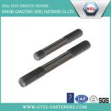 Parafusos dobro da extremidade DIN938/parafuso principal dobro/parafuso do parafuso prisioneiro