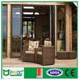 Дверь складчатости Pnoc080324ls алюминиевая с конструкцией решетки