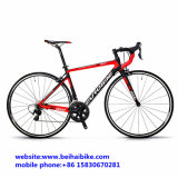 Bici barata el competir con de camino de la fibra del carbón de la alta calidad