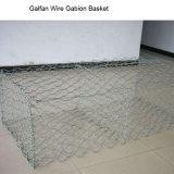 Abnutzung-Steuerzink-5% AluminiumGalfan Gabion Matte/Gabion Matratze