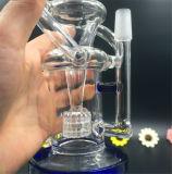 Ясное стекло трубы дыма грохает трубу водопровода Recycler стеклянную с бочонком Perc