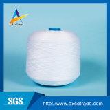 Blanco sin procesar de los hilados de polyester de la ropa para el hilo para obras de punto en materia textil