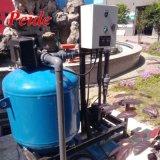 آليّة خضربة ماء مجرى جانبيّ [سند فيلتر] يستعمل في عمليّة ريّ زراعيّ