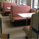 최신 판매 좋은 품질 Leatherette 현대 대중음식점 벤치 시트