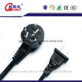 Специализировано в электрической штепсельной вилке 3 Poles Китая