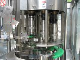 Máquina de rellenar plástica automática llena del agua de botella y máquina del lacre