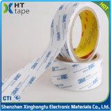 El doble adhesivo fuerte del algodón echó a un lado cinta del tejido de la cinta