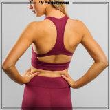 Ente all'ingrosso su ordinazione che modella il reggiseno sexy di yoga di ginnastica di forma fisica delle signore