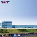 Costruzione prefabbricata del magazzino della struttura d'acciaio del PVC dell'alluminio esterno impermeabile