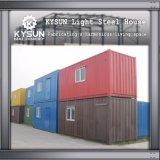 2개의 지면 작업장을%s 빠른 임명 강철 구조물 빛 강철 모듈 집