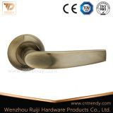 Het Handvat van de Deur van de Hefboom van het aluminium voor Houten Deur