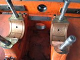 Macchina tagliante e di piegatura a base piatta semiautomatica