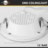 Alto indicatore luminoso di comitato di vetro rotondo di lumen 2835 SMD LED