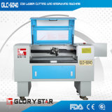 Madeira, acrílico, alumínio, plástico, máquina de gravura do laser do CO2