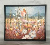 Arte moderno della pittura a olio di paesaggio incorniciata parete della tela di canapa di arte