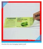 Collant auto-adhésif d'étiquette d'impression imperméable à l'eau résistante UV d'animal familier de PVC