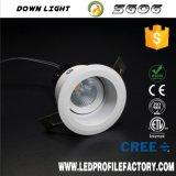 Downlight LED SMD de 8W Foco abajo