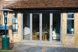 Pnoc080347ls puerta plegable de aluminio de piso