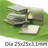 Zink-Beschichtung NdFeB Blockgröße Dauermagnet