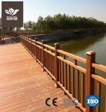 100*100mm clôture balustrade en bois composite en plastique