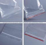OEM diversos tamanhos de embalagem transparente de Plástico Ziplock Bag