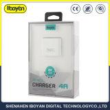 Wand USB-Handy-Aufladeeinheit des Arbeitsweg-4.0A elektrische