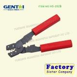 O HSC8 1-4 Four-Mandrel Alicate de cravar para contatos Ligado