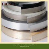 Cabinet/PVC Tape/PVCのストリップのための木の穀物PVC端バンド