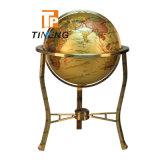 Grande globo d'ottone decorativo di formato 630/430/330mm