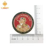 Personalizado de alta calidad Metal Stoving Two-Sides barniz monedas