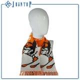 Écharpe de tricotage acrylique de 100% fabriquée en Chine