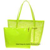 Handtaschen-Set der Form-freies Spitze-2PCS, Belüftung-Strand-Gelee-Beutel