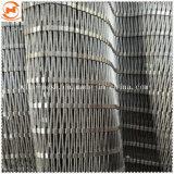 Balaustra flessibile del balcone della scala del puntale decorativo dell'acciaio inossidabile