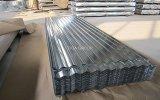 Spitzenzink-runzelte überzogene Eisen-Dach-Fliese/galvanisiertes Stahlblech