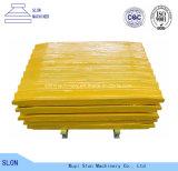 De hoge Vaste Vervangstukken van de Maalmachine van de Kaak van Extec van het Mangaan C10+ C12+/de Bewegende Plaat van de Kaak