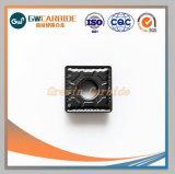 Indexable de carburo inserciones para máquinas CNC