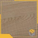 Papel impregnado melamina de madera 70g 80g del diseño del grano usado para los muebles, suelo, superficie de la cocina de Manufactrure chino