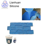 Lianhuan le enseña a cómo copiar la escultura de la pared del yeso por el caucho de silicón RTV-2