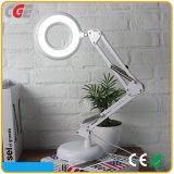 Lámpara de vector ligera de carga elegante vendedora caliente de la lámpara LED del libro del libro LED de la lectura LED de la lámpara del regalo que magnifica de Dimmable de la oficina blanca más nueva del ABS