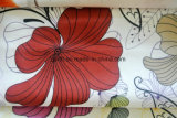 Nueva tela de tapicería púrpura para el sofá