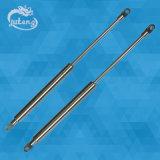 Resorte de gas material de acero SS316 con la rótula y el rectángulo del tronco